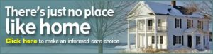 There's just no place like home banner