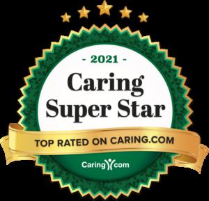 Caring Super Star Top Rated 2021 Award