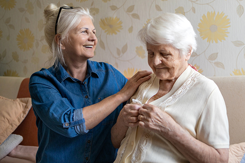 characteristics of middle stage Alzheimer's caregiving