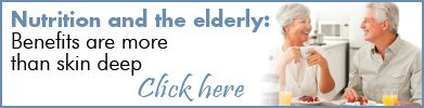 Nutrition and the elderly: Benefits are more than skin deep